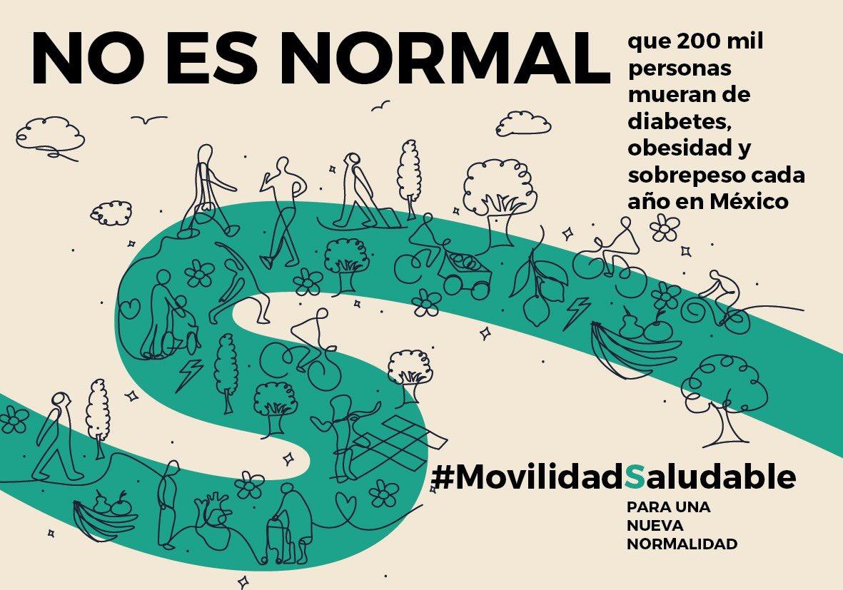 No es normal que 200 mil personas mueran de diabetes, obesidad y sobrepeso cada año en México